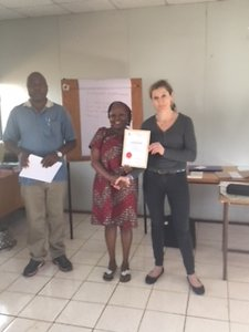 Blog. Workshop giving certificates